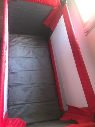 Cuna viaje con colchón