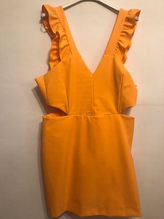 Mono naranja Zara