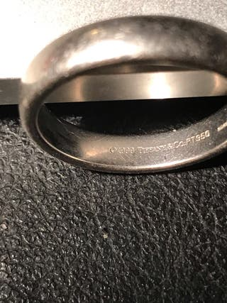 Tiffany anillo de matrimonio, Pvp 3500€