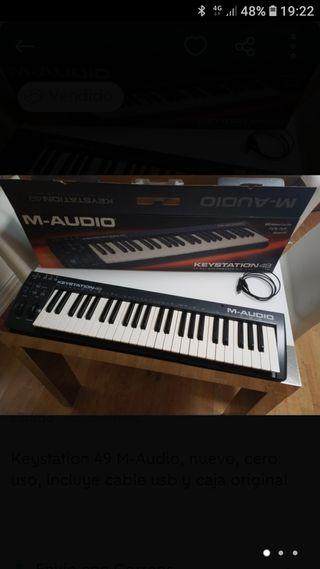 Teclado M-Audio Keystation 49