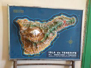 Mapa Antiguo Tenerife
