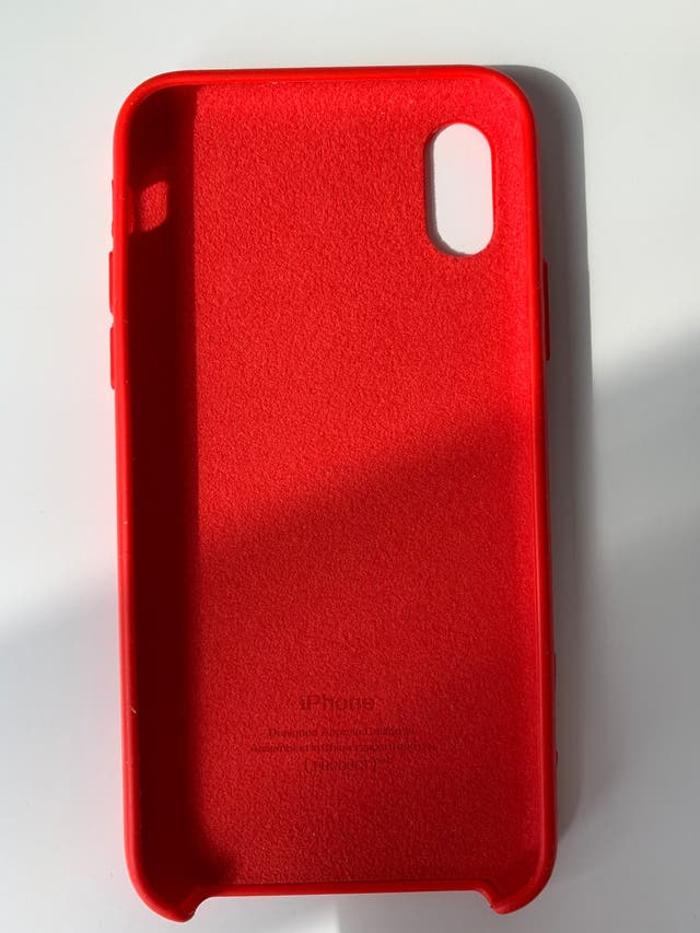 Red iPhone XS Case
