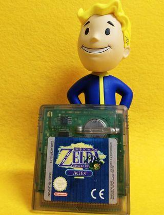 Game Boy Color - Zelda Oracle of Ages