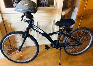 "Bicicleta Btwin ""24"" pulgadas para niño"