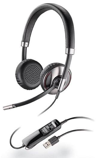 Auriculares con micrófono retráctil USB Bluetooth