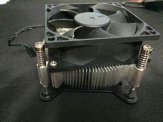 Disipador CPU. Socket LGA 1151. 19 euros.