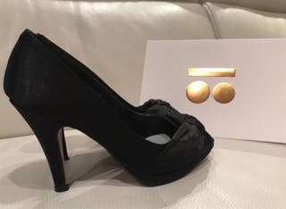 Zapatos peep toe nº 36.