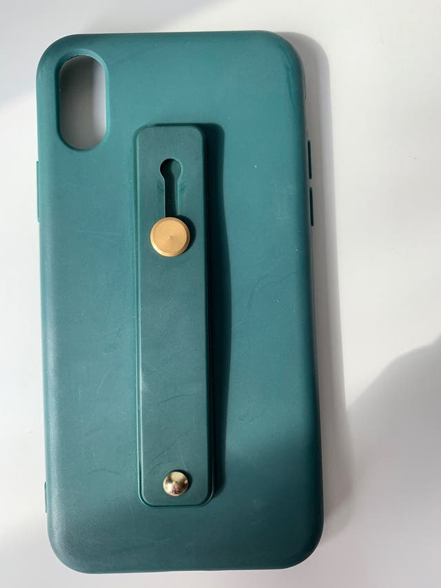 Green iPhone XS Phone Case