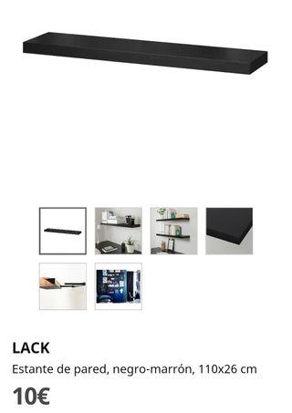 Estante de pared LACK de IKEA