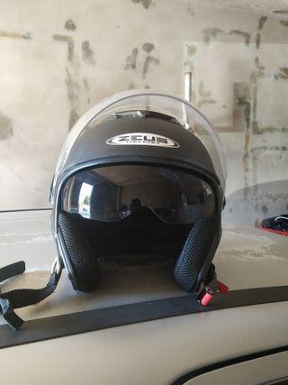 casco Zeus con gafas talla M