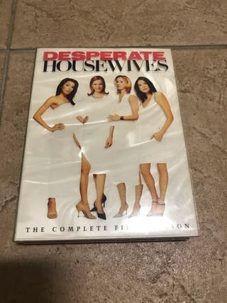 "DVD ""Desperate House Wifes"" (Mujeres desesperadas)"