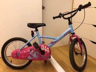 Bici infantil 16 pulgadas.