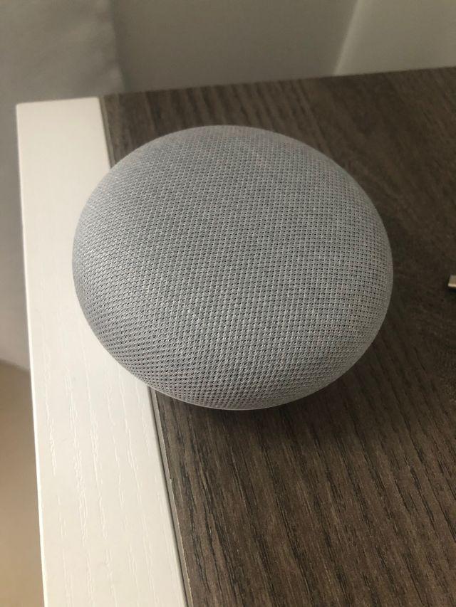 Google Home Mini Blanco Tiza - Altavoz Inteligente