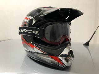Casco motocross + gafas