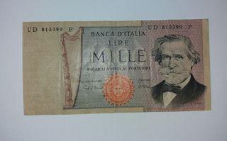 1969- Billete Italia 1000 Liras