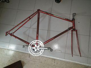 cuadro bici carreras completo