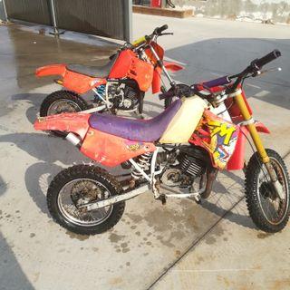 moto cross infantil
