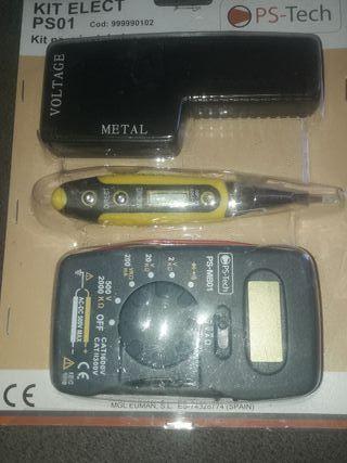 kit para instalador eléctrico ps tech nuevo