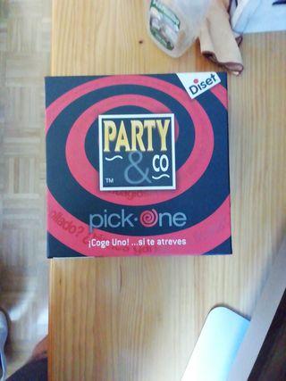 Juego de mesa party pick_one
