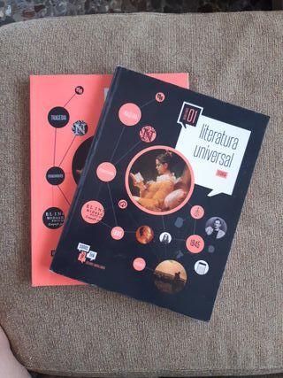 libros literatura universal 1° bachiller