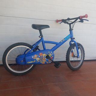 Bicicleta niño/a (16´´)