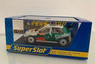 Skoda Fabia WRC Superslot Scalextric