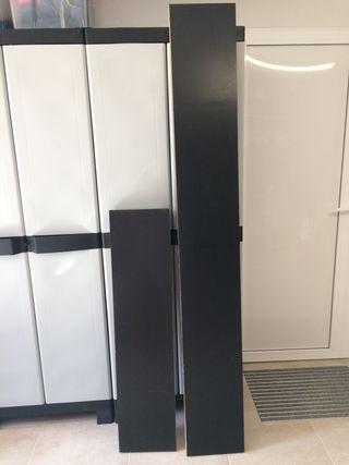 Estantes de pared LACK (IKEA)