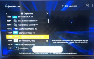 smart TV ,canales por internet
