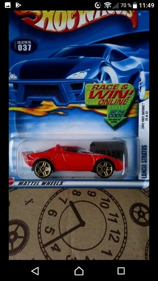 Lancia Stratos. 2002 First editions Hot wheels