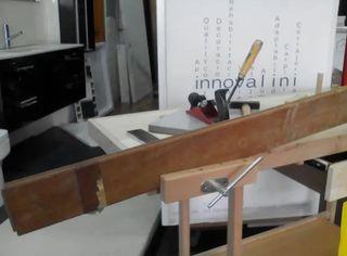 Mesa de madera bricolaje