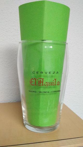 Vaso de cerveza EL ÁGUILA