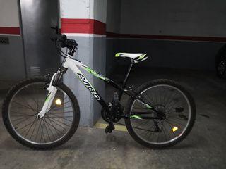 Bicicleta para niño + casco