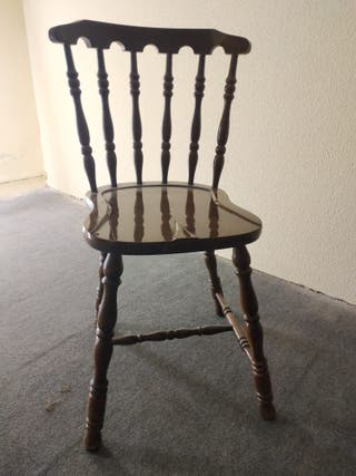 Juego sillas comedor años 70