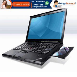 """Portátil Lenovo T510 15,6"""", Procesador i3, Win10 G"""