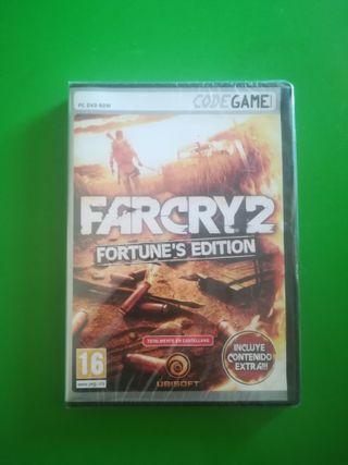 Far Cry 2 pc nuevo precintado