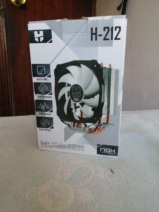 Disipador Nox Hummer H212 (AMD & INTEL)