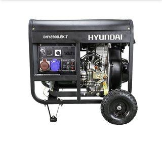 DHY8500LEK-T Generador HYUNDAI Diésel 3000rpm Full