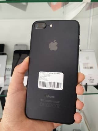 OFERTA iphone 7 plus 128gb negro mate original