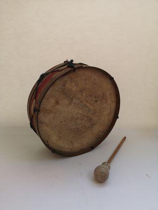 tambor juguete antiguo