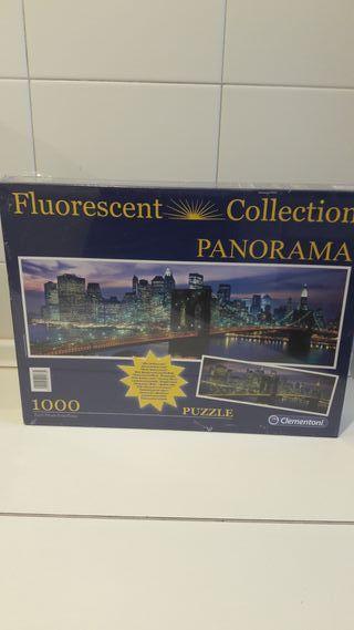Puzzle fluorescente 1000 piezas Clementoni