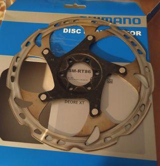 Disco Shimano XT 180 RT86
