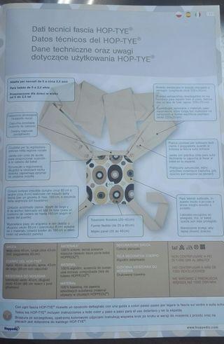 mochila-fular de porteo evolutivo y ergonómico