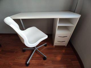 escritorio + silla giratoria