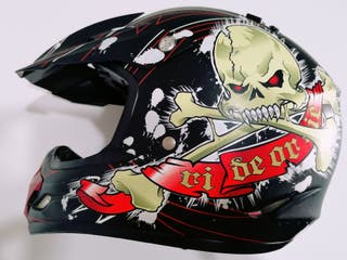 Casco y Gafas Motocross