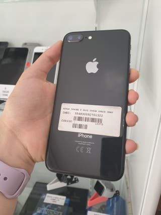 OFERTA IPHONE 8 plus 256gb negro original