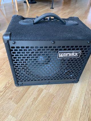 Warwick bc10 Amplificador de bajo