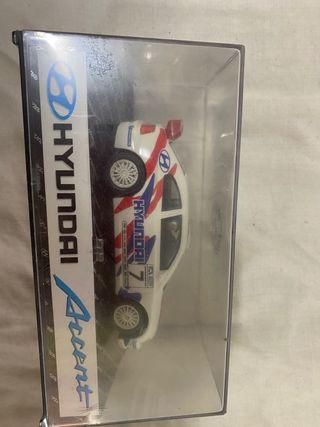 Coche scalextric nuevo. Hyundai accent rally