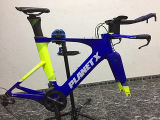 Bicicleta triatlón carbono
