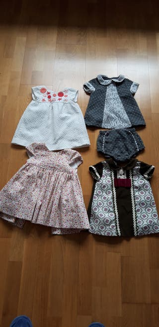 vestidos bebé de niña.