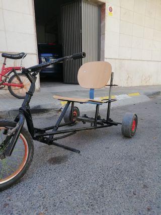 triciclo de drif casero